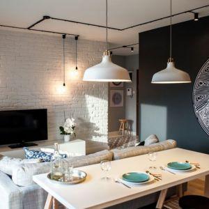 Małe mieszkanie: Projekt: Raca Architekci. Fot. Adam Ościłowski