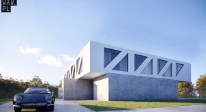 Dom Most, zaprojektowany przez pracownię 81.waw.pl, stanowi trójkątną bryłę piętra, opartą na dwóch betonowych ścianach parteru. Dzięki zastosowaniu ażurowej konstrukcji piętra w postaci trójkątów, powstała nietypowa forma, przypominając