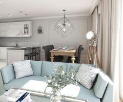 Mieszkanie w stylu glamour. Projekt: Aleksandra Pater-Bartnik, ArchOmega Studio