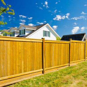 Ogrodzenie z drewna. Fot. Shutterstock