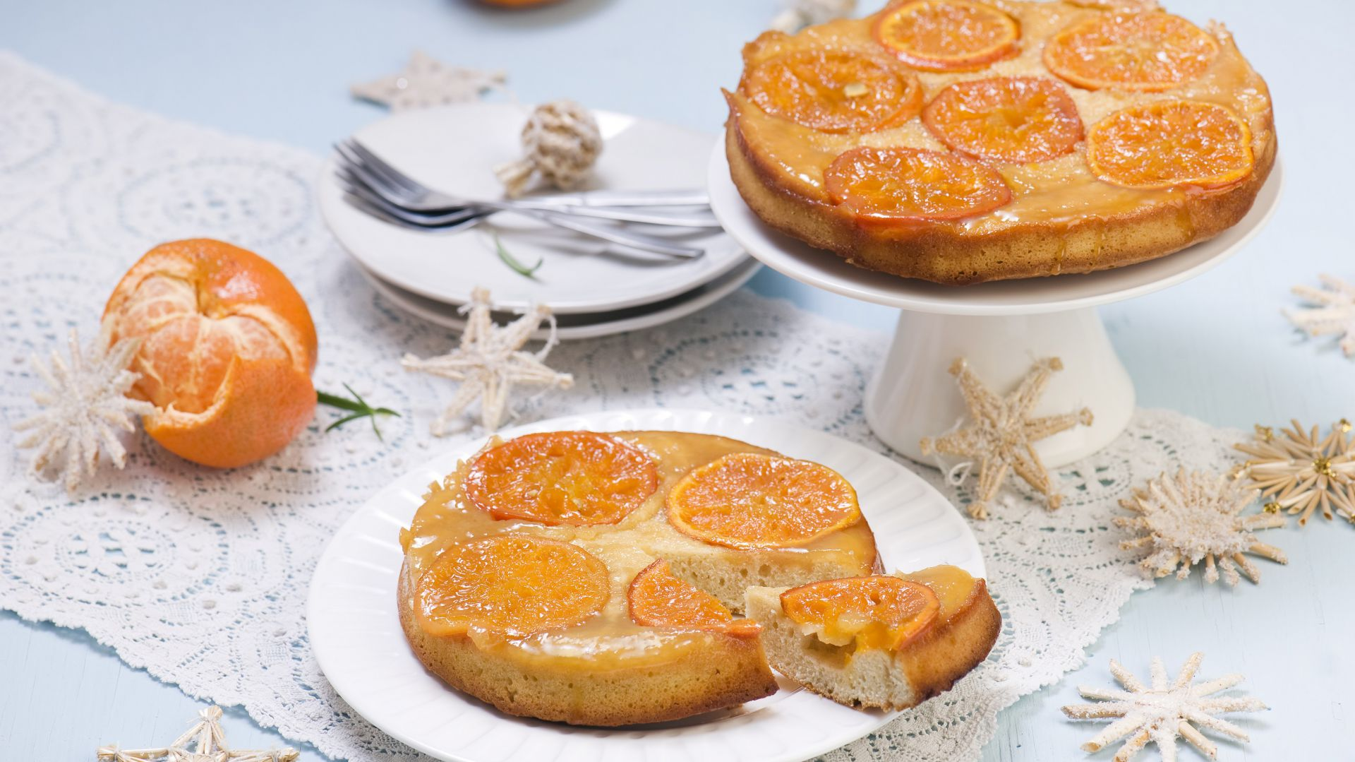 Ciasto mandarynkowe. Fot. Diamant