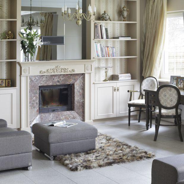 Wnętrza w stylu klasycznym - dobre meble to podstawa
