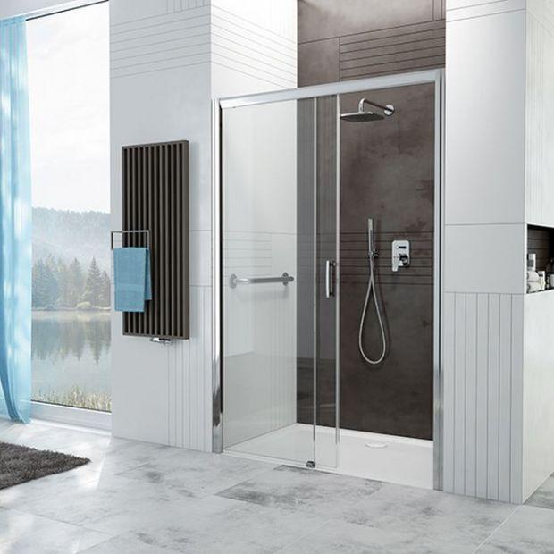 Nowość do łazienki: kabiny z wygodnym wejściem