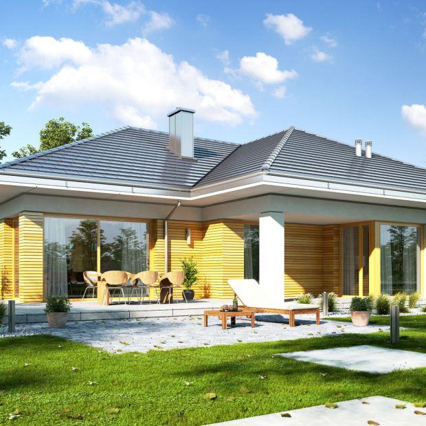 Mały dom parterowy: doskonały projekt dla rodziny!