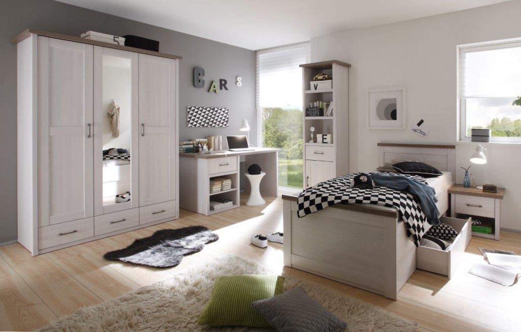 Modna sypialnia: kolekcja Luca. Fot. Black red White