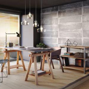 System ścienny Kerradeco to realistyczny efekt wizualny oraz wierne odwzorowanie faktury wielu materiałów: kamienia naturalnego, postarzanego drewna, czy betonu szalunkowego (dekor Loft Concrete). 159 zł/m². Fot. Vox