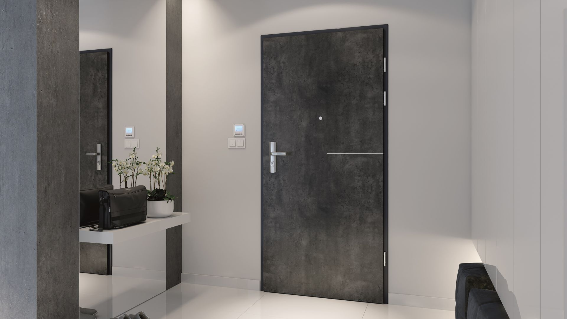 Drzwi wejściowe Granit R3. Fot. Porta