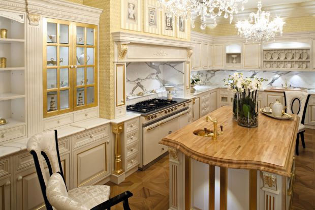 Kamień w kuchni: marmur w 5 odsłonach