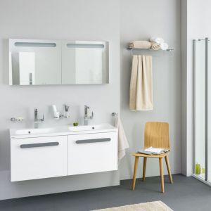 Podwieszane meble łazienkowe z konceptu Chrome marki Ravak. Fot. Ravak