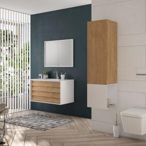 Podwieszane meble łazienkowe z kolekcji Frame marki VitrA. Fot. VitrA