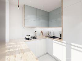 Strefa dzienna - kuchnia. Fot. Artur Jóźwik / INVENTIVE Studio