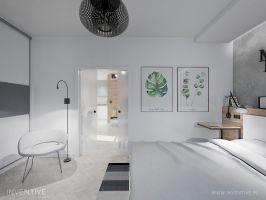 Sypialnia. Fot. Artur Jóźwik / INVENTIVE Studio