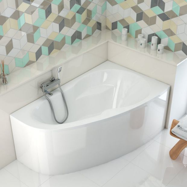 Mała łazienka: wybieramy idealną wannę