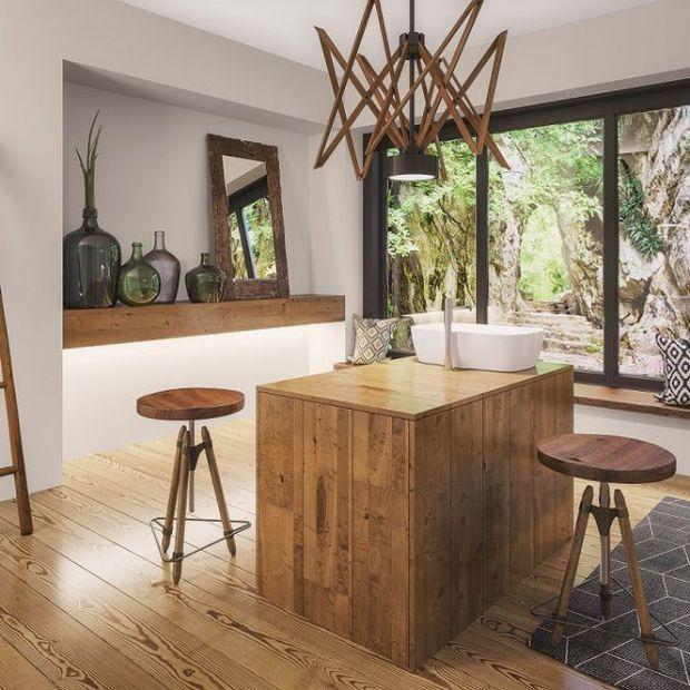Drewno w aranżacji - tak można ocielić wnętrze