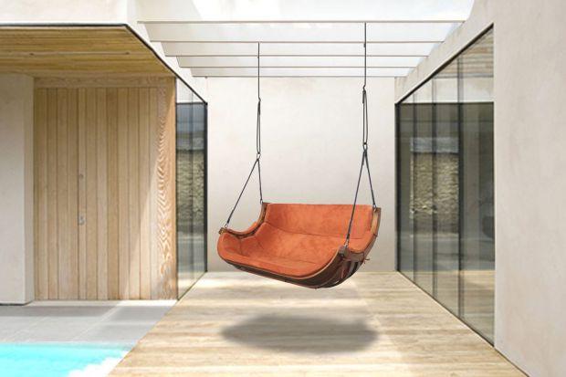 Wyjątkowy fotel - do salonu i ogrodu