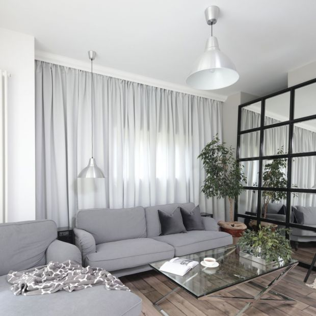 Jasne, stylowe mieszkanie - piękny projekt