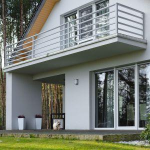 Parterowy dom nad jeziorem w Margoninie. Projekt: Edyta Wełnicka / ewem Aranżacja wnętrz