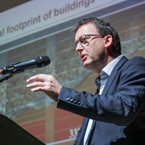 Edward Schwarz, General Manager, LafargeHolcim Foundation for Sustainable Construction, 4 Design Days 2018. Fot. PTWP