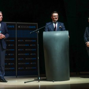 Marcin Krupa, prezydent Katowic, 4 Design Days 2018. Fot. PTWP