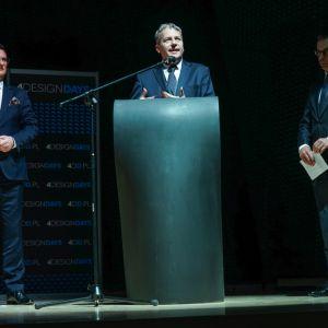 Wojciech Saługa, Marszałek Województwa Śląskiego, 4 Design Days 2018. Fot. PTWP