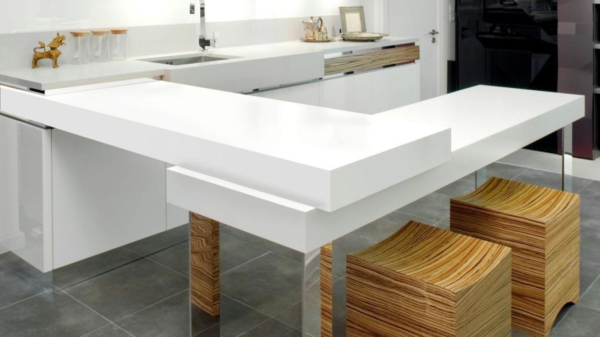 Piękne i funkcjonalne wnętrze wykończone płytą laminowaną Duropal SolidColor. Fot. Pfleiderer