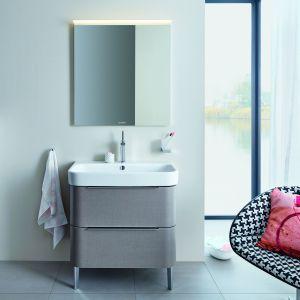 Nowa kolekcja łazienkowa Happy D2. W skład serii wchodzą umywalki, wanny, miski toaletowe oraz meble łazienkowe. Fot. Duravit