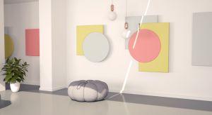 Fluffo Art składa się z pięciu obiektów, dających możliwość łączenia ich w przeróżne kompozycje. Prosta, geometryczna forma, skupiona na kolorze i detalu, nawiązuje do zasad kompozycji neoplastycznej, a charakterystyczne ścięte krawędzie p