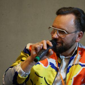 Moderatorem sesji Kolor ma znaczenie był Artur Indyka, projektant wnętrz. Fot. PTWP
