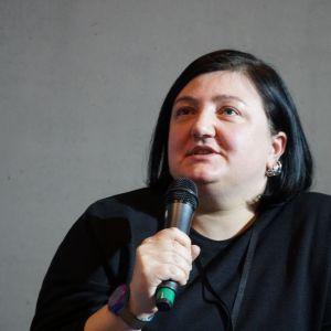 Moderatosem sesji projekt salon była Dagmara Jakubczak, blogerka Forelements.pl, historyk sztuki, projektantka wnętrz. Fot. PTWP