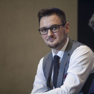 Marcin Fatyga, Chief Designer Officer, Rust.  Fot. PTWP