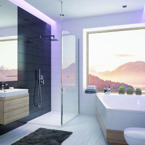 Nowoczesna  łazienka: wanna ALT-WTL FREE. Fot. Sanplast