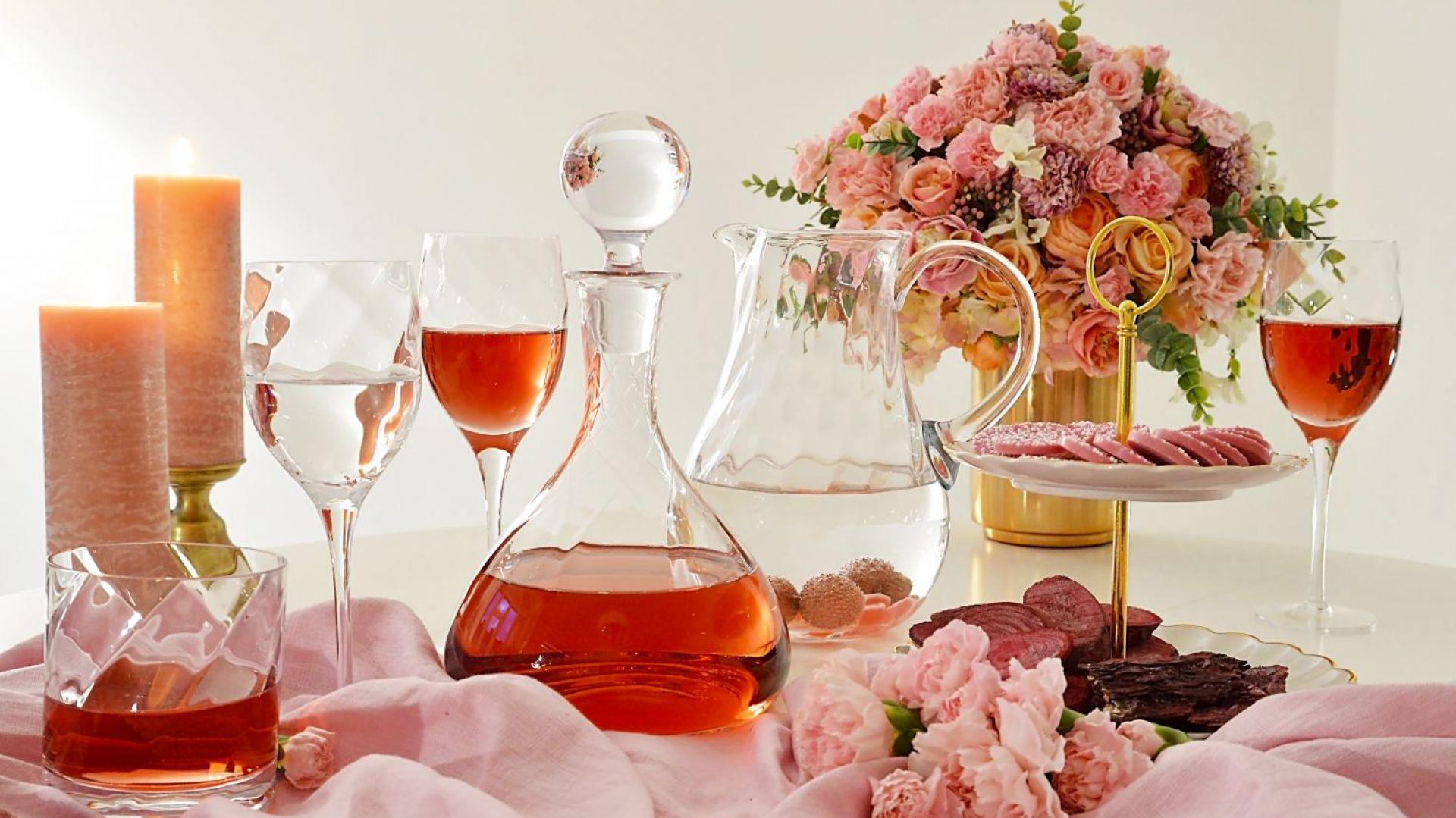 Nowe kolekcje szkła użytkowego. Fot. Krosno