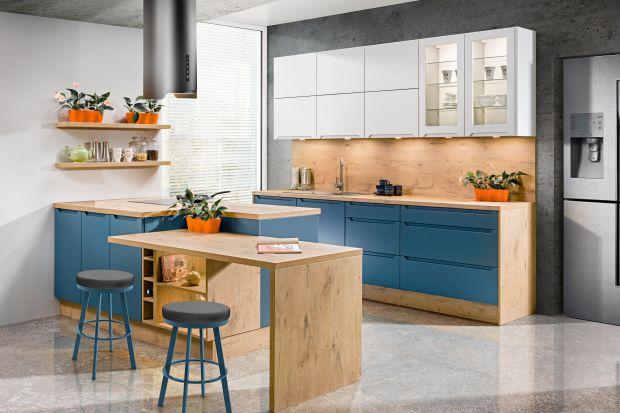 Modna kuchnia - czas na kolor