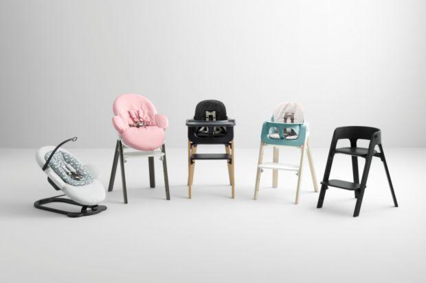 Nowe kolory i wzory poduszek dla dziecięcych krzesełek