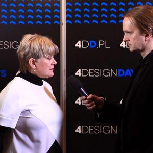 Profesor Ewa Kuryłowicz na 4 Design Days. Fot. PTWP