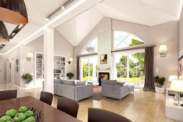 Piękny dom w tradycyjnym stylu. Zobacz projekt i wnętrza