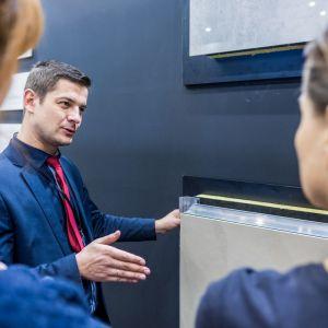 Grupa Tubądzin na 4 Design Days, Krzysztof Kulig, Product Manager. Fot. Tubądzin