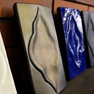 Wzory kafli do budowy pieców ceramicznych. Fot. PTWP