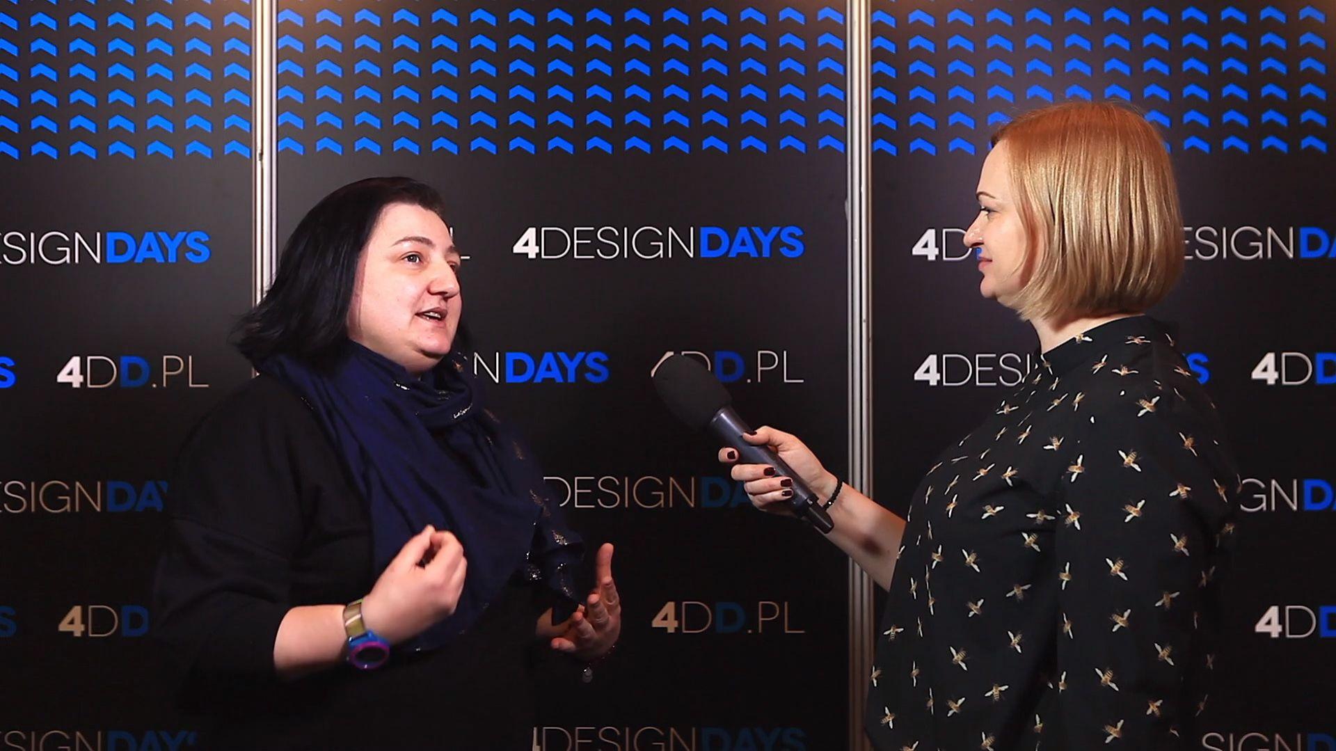 Dagmara Jakubczak na 4 Design Days. Fot. PTWP