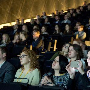 Podczas gali konkursowej, poza wręczeniem nagród konkursowych, odwiedzający mogli liczyć na ciekawe wydarzenia towarzyszące temu konkursowi. W trakcie gali odbyła się krótka prezentacja marki Elements i Vigour. Fot. PTWP