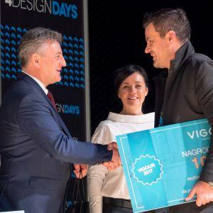 Nagroda główna za projekt wnętrza inwestora indywidualnego w wysokości 10000 zł trafiła do Wenancjusza Majera z Warszawy. Fot. PTWP
