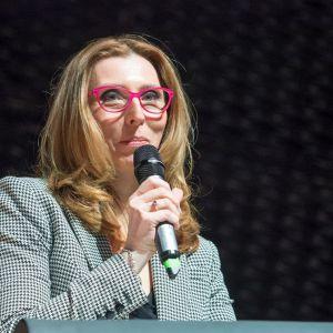 Justyna Hys z Częstochowy, zwyciężczyni konkursu Vigour 2017 w kategorii wnętrz inwestycyjne Fot. PTWP