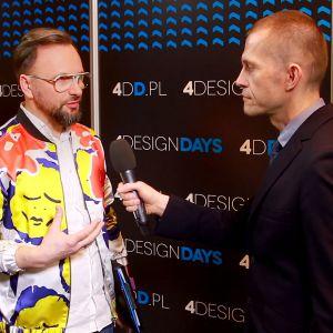 Artur Indyka, projektant wnętrz. Fot. PTWP