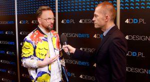 """Jakie kolory będą obowiązywały w 2018 roku? Jak za pomocą tkaniny odmienić wnętrze? Mówił o tym Artur Indyka, projektant wnętrz, prowadzący program """"Meblokreacje"""" na kanaleDomo+."""