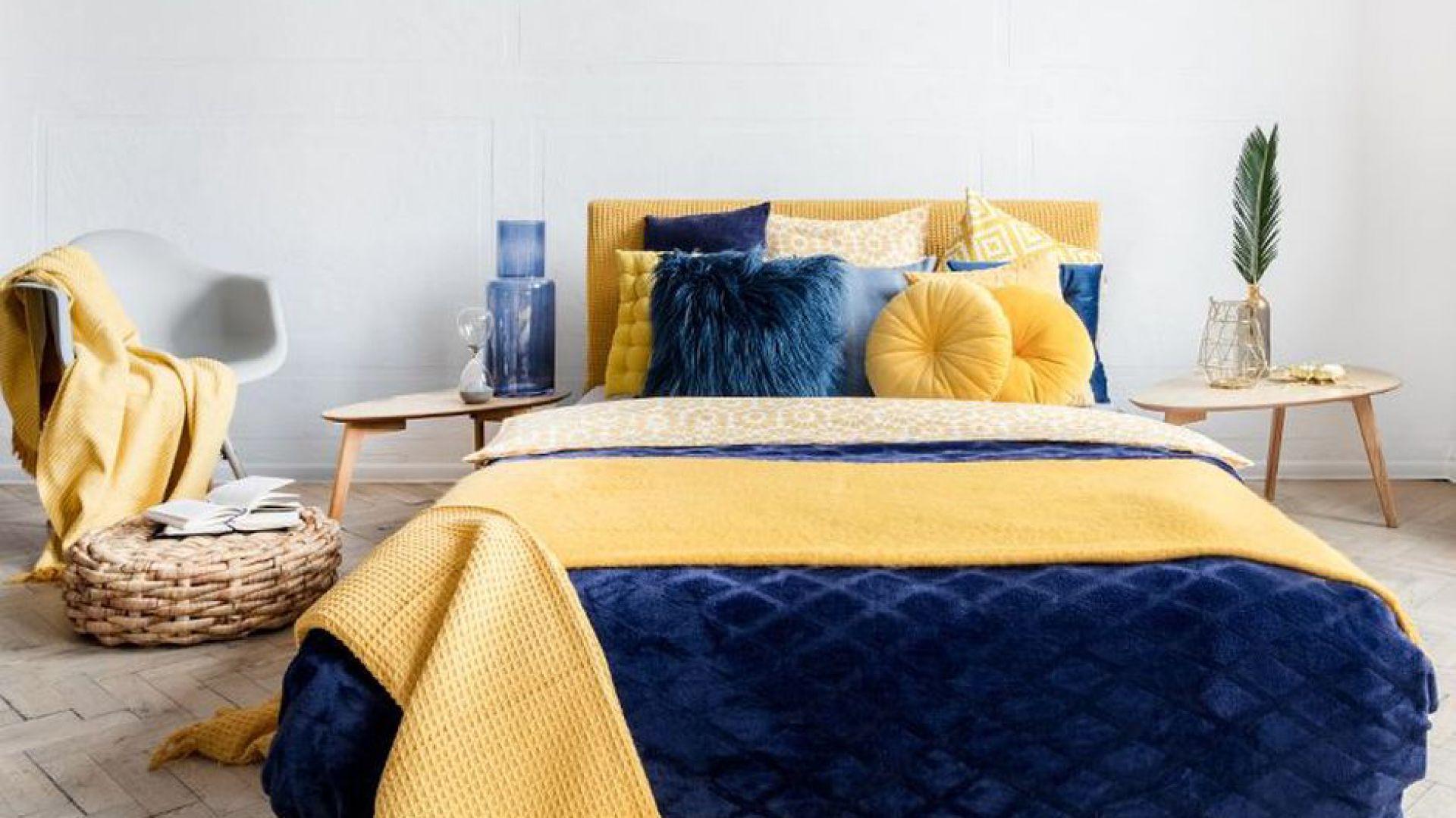 Nowa kolekcja tekstyliów i dodatków Mustard Indygo. Fot. Homla
