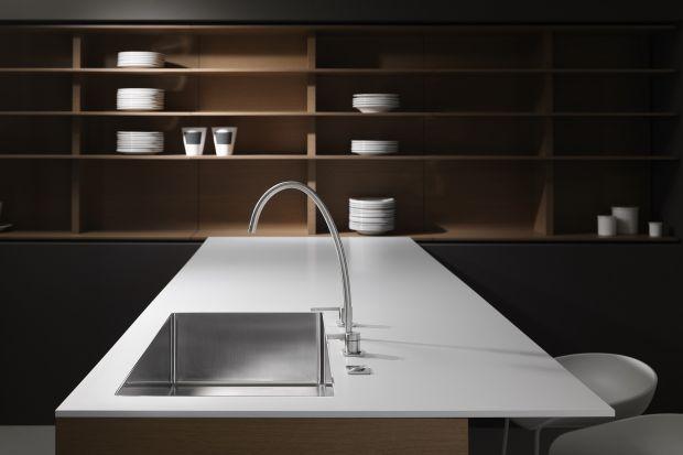 Baterie kuchenne: wzornictwo inspirowane strumieniem wody