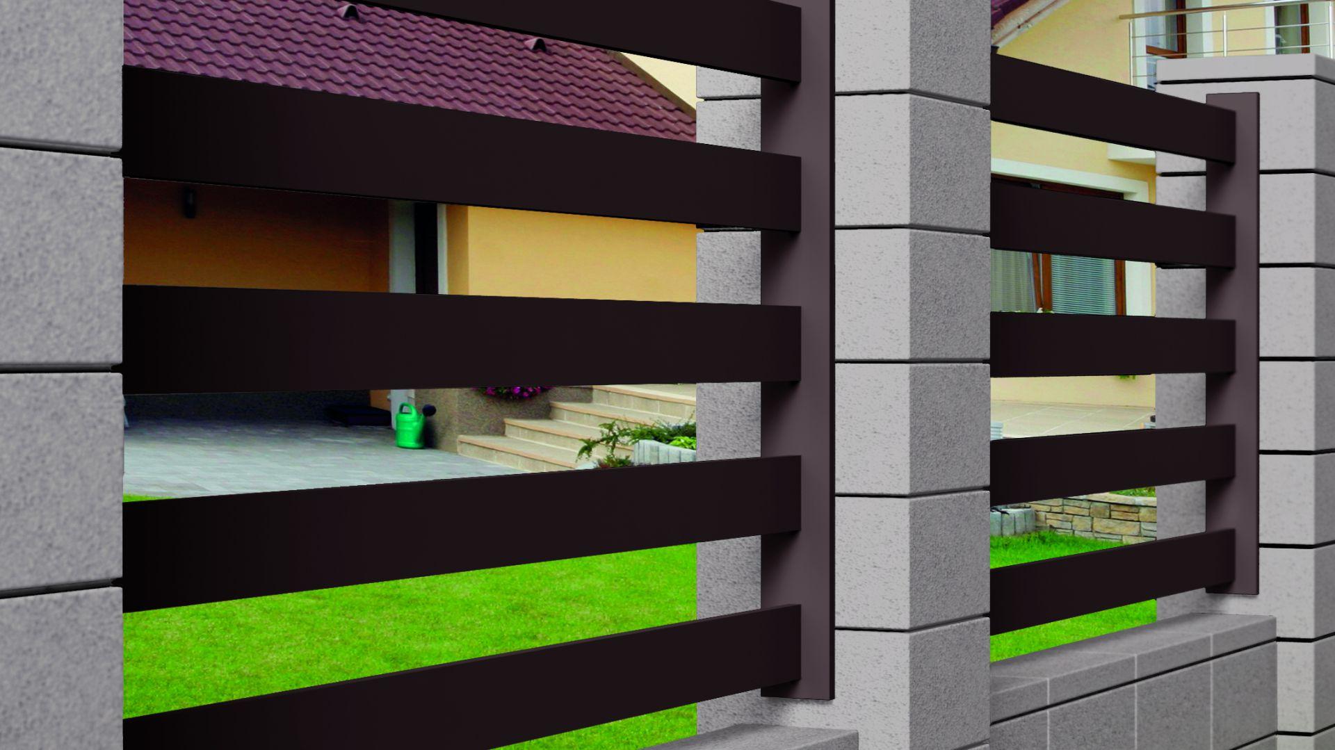 Ogrodzenie modułowe Cubus. Fot. Buszrem