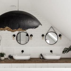 Gotowy projekt salonu kąpielowego. Projekt: Katarzyna Barbella Aponte. Fot. Marcin Kowalski, SMART LAB