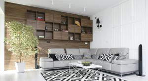 Tapeta, cegła, drewno, farba - pomysłów na piękne i ciekawe wykończenie ścian w salonie jest całe mnóstwo. Zobaczcie kilka z nich.