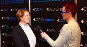 """Czy słowo """"dizajnerski"""" niesie ze sobą pejoratywne znaczenie? O tym w trakcie 4 Design Days 2018 mówiła Ewa Gołębiowska, dyrektor Zamku Cieszyn."""